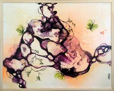 Artcompaz billedkunst - Rikke Darling - Spinning, 2016