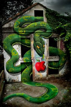 Impressive 3D #streetart