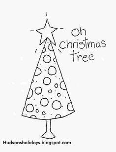 Hudson's Holidays - Designer Shirley Hudson: Oh Christmas Tree- Freebie Friday