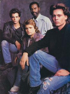 21 JUMP STREET pinup - RICHARD GRIECO JOHNNY DEPP PETER DELUISE