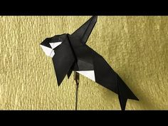 【折り紙】 シャチを折ってみた 【折り方】 - YouTube