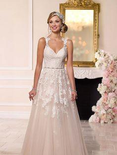 Stella York, 6144   Koonings bruid & bruidegom