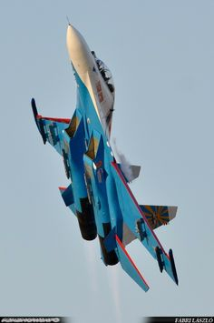 Russian Knight Su-27 Flanker, Kecskemét Airshow 2013  https://www.facebook.com/pages/Airshowinfo/199296930096187