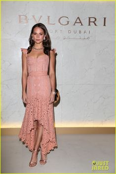 Alicia Vikander & Bella Hadid Celebrate Bulgari Resort Opening in Dubai