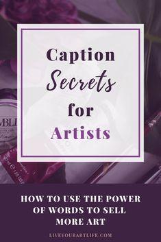 Instagram Marketing Tips, Instagram Tips, Craft Business, Creative Business, Business Tips, Selling Art Online, Online Art, Artist Branding, Instagram Artist
