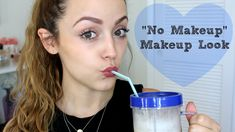 "Chatty Get Ready | Minimal Makeup-- Just discovered KathleenLights and I absolutely love her channel... one of the ""less fake"" YouTubers."