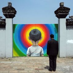"""by Seth GlobePainter - """"Tales from the countryside - part 8"""" - Fengjing, China - Apr 2015"""