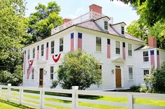 An old New England home on the 4th of July | New England Living