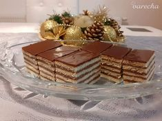 Madžarica - chorvátska doboška (fotorecept) - recept | Varecha.sk Baked Goods, Decorative Boxes, Xmas, Table Decorations, Baking, Cake, Food, Home Decor, Decoration Home