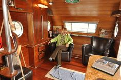 Inside the 1950 Airfloat Land Yacht (2) | Flickr - Photo Sharing!
