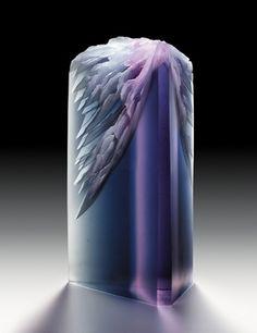 """*Art Glass - """"Radiant Mountain"""" by Alex Gabriel Bernstein"""