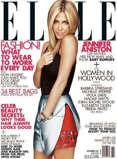 Jennifer Aniston - November 2011 Elle US cover