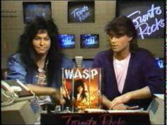 Toronto Rocks Blackie Lawless (W.A.S.P.) interview 1987