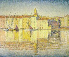 Пуантилизм: история мирового искусства Поль Синьяк
