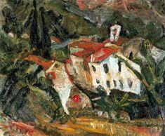 Sam Francis, Chaim Soutine, January 13, Artists, Painting, Expressionism, Art, Oil, Landscape