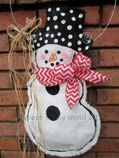 Full+Body+Snowman+Burlap+Door+Hanger+Door+by+nursejeanneg+on+Etsy,+$28.00