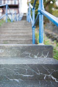 city steps detail