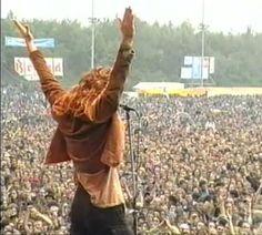 Eddie at Pink Pop 1992