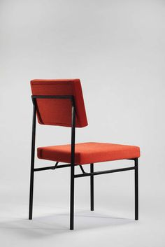 Antoine Philippon and Jacqueline Lecoq; #P60 Enameled Metal Chair, c1960.