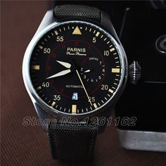 Parnis automatic power reserve 44mm