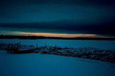 #enbildomdagen2014 - Solnedgång