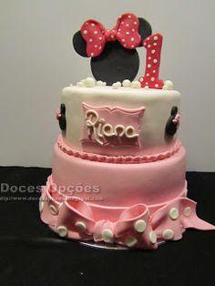 Doces Opções: O 1º aniversário da Riana Cake, Disney, Desserts, Food, Decorating Cakes, Fiestas, Sweets, Toddler Girls, Tailgate Desserts
