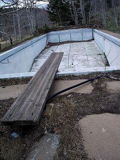 Abandoned Swimming Pool 1, via Flickr.