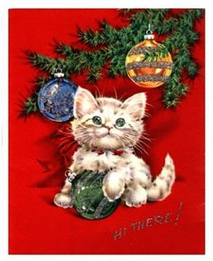Vintage Christmas Card Images On CD Digital Art For Tags Jewelry Scrapbooking