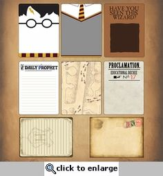 Wizarding World: Wizard Journaling Cards