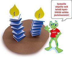 Kuvahaun tulos haulle itsenäisyyspäivä kynttilä askartelu