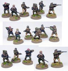 The Assault Group: Assorted SAS