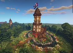 Real Minecraft, Minecraft Pictures, Minecraft Medieval, Amazing Minecraft, How To Play Minecraft, Minecraft Creations, Minecraft Projects, Minecraft Crafts, Minecraft Designs