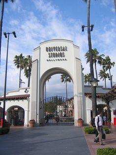 Outside Universal Studios LA by Pat Downey, via Flickr