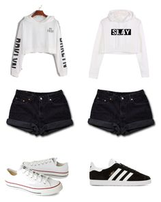 """""""Untitled #2"""" by moni2914 on Polyvore featuring Levi's, Converse and adidas Originals"""