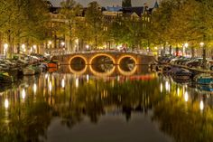 Amsterdam by Night by Mo Ajammal on 500px