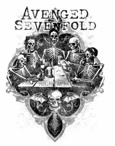 Avenged Sevenfold - this is one of my favorite album covers of ALL time.