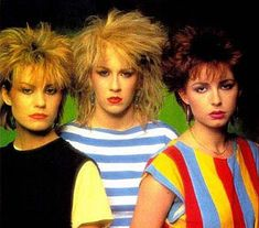 Bananarama in the 80s
