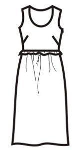 41e6bcaaa6ab0a0 Выкройка летнего платья большого размера, размеры 50, 52, 54, 56 | Sewing |  Платья, Летние платья, Платья больших размеров