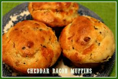 ... cheddar bacon muffins more sweet tea quick muffins sweets cheddar