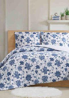 Comforters | Comforter Sets | Down Comforters | belk Plaid Comforter, Blue Comforter Sets, Down Comforter, Blue Bedding, Bedding Sets, Blue Bedspread, Bedroom Drapes, Blue Bedroom, Bedroom Sets