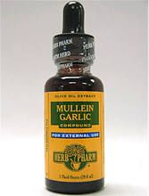 Herb Pharm Mullein Garlic Ear Oil - 1 fl oz