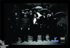 Foto de La Soberana Convención Revolucionaria, la cual tuvo como sede la hermosa ciudad de Aguascalientes, en el año de 1914. (fototeca del Archivo General Municipal)
