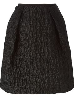Shop Carven 'Trapezoid' embossed skirt  in Gaudenzi from the world's best independent boutiques at farfetch.com. Shop 300 boutiques at one address.