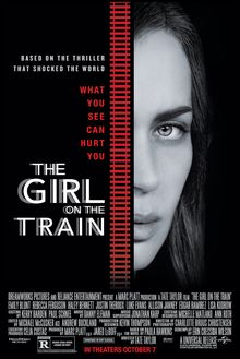 Stop by at 2pm on Friday, April 7 to see The Girl on the Train starring Emily Blunt (R). Based on Paula Hawkins' 2015 debut novel of the same name. Open to everyone & no registration is required.