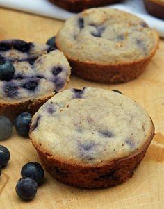 #HEALTHYRECIPE - Oat Flour Blueberry Muffins + Some Info on Oat Flour