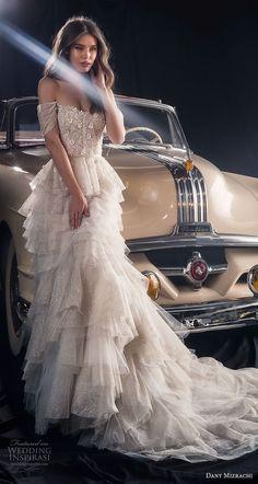 Dany Mizrachi Fall 2018 Wedding Dress - Yasemin E - #Dany #Dress #Fall #Mizrachi #wedding #Yasemin -