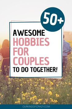 Hobbies for Couples to do together. Over 50 ideas of great hobbies couples can do to help bond and grow closer together. Couples Things To Do, Things To Do At Home, Hobbies For Couples, Great Hobbies, Couple Things, Couples Game Night, Crazy Love, Marriage Tips, Healthy Relationships