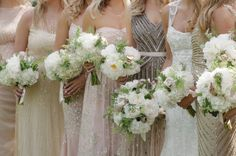 Embellished Bead & Sequin Bridesmaid Dresses | SouthBound Bride www.southboundbride.com/embellished-bridesmaid-dresses  Credit: Ashley Seawell Photography