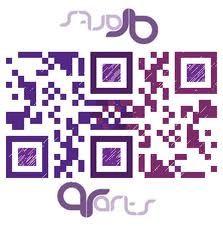 Double #QR code by QR Arts
