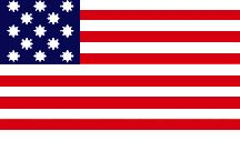 american flag during american revolution